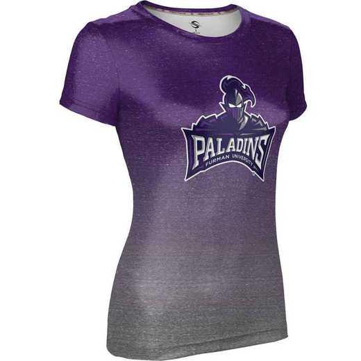 ProSphere Furman University Girls' Performance T-Shirt (Ombre)