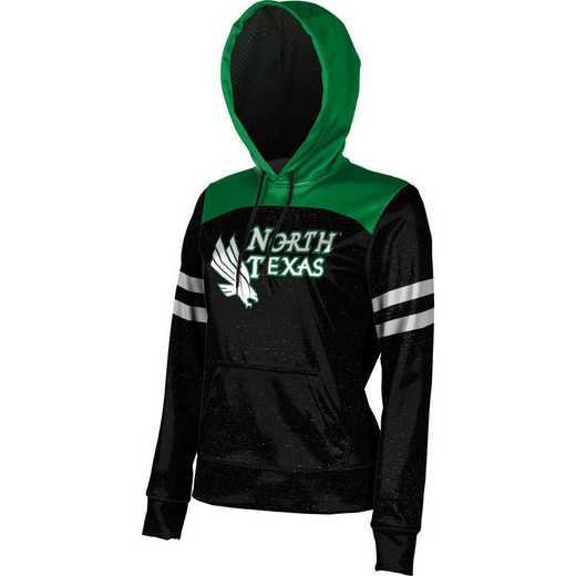 ProSphere University of North Texas Women's Pullover Hoodie, School Spirit Sweatshirt (Game Day)