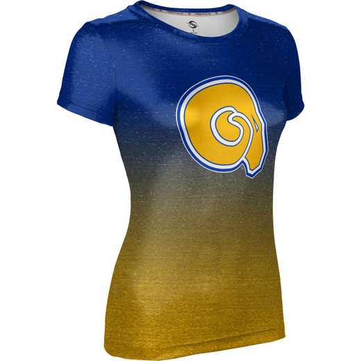 ProSphere Albany State University Women's Performance T-Shirt (Ombre)
