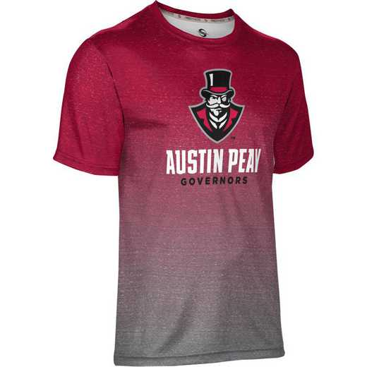 ProSphere Austin Peay State University Men's Performance T-Shirt (Ombre)