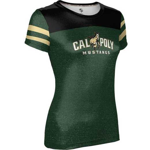California Polytechnic State University Girls' Performance T-Shirt (Gameday)