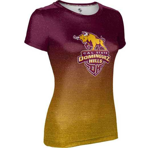 California State University- Dominguez Hills Girls' Performance T-Shirt (Ombre)