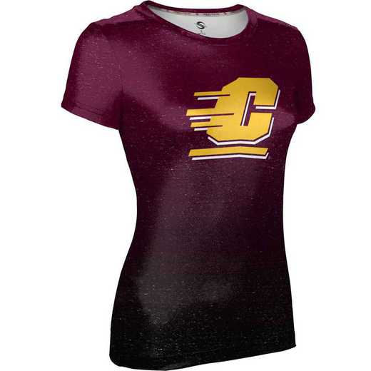 ProSphere Central Michigan University Girls' Performance T-Shirt (Ombre)