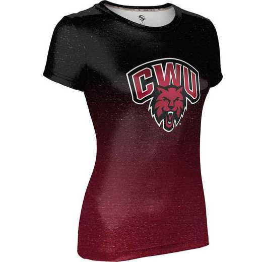 ProSphere Central Washington University Girls' Performance T-Shirt (Ombre)