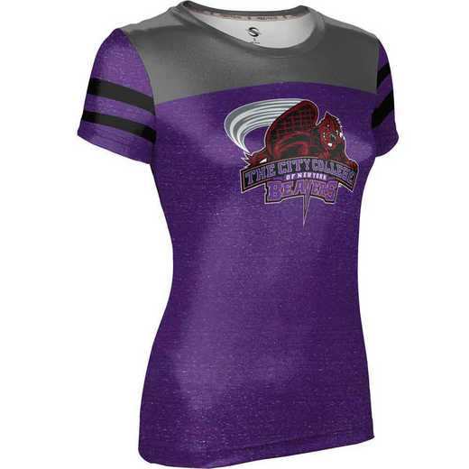 ProSphere City College of New York Girls' Performance T-Shirt (Gameday)