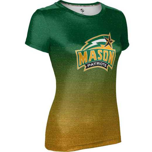 ProSphere George Mason University Girls' Performance T-Shirt (Ombre)