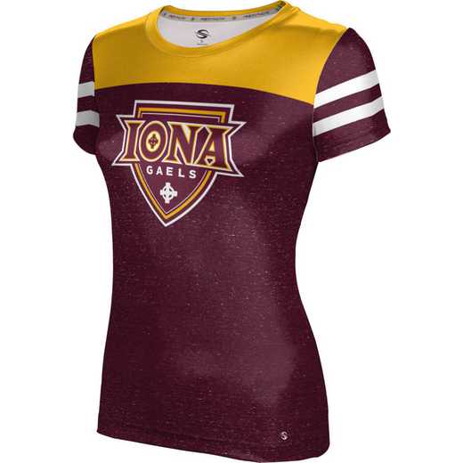 ProSphere Iona College University Girls' Performance T-Shirt (Gameday)