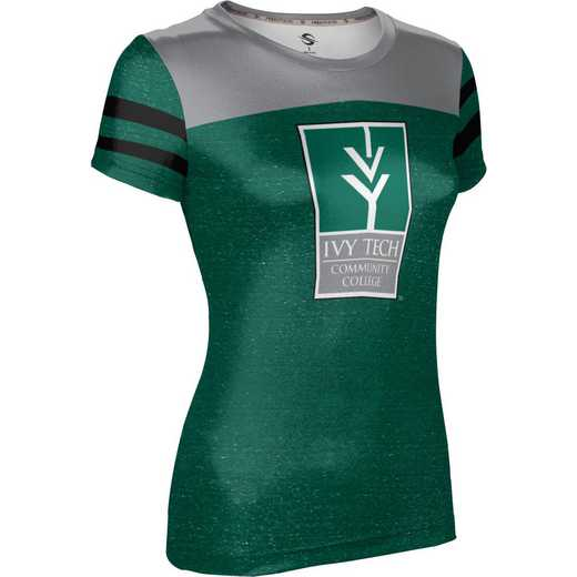 Ivy Tech Community College of Indiana University Girls' Performance T-Shirt (Gameday)