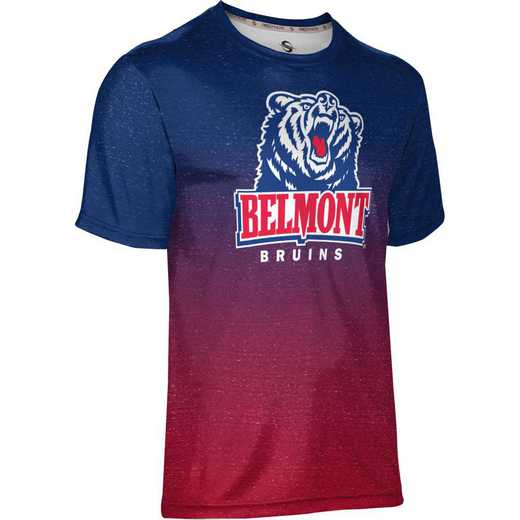 ProSphere Belmont University Men's Performance T-Shirt (Ombre)