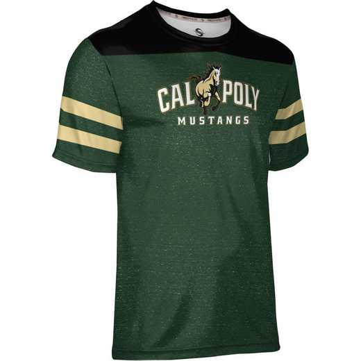 California Polytechnic State University Men's Performance T-Shirt (Gameday)