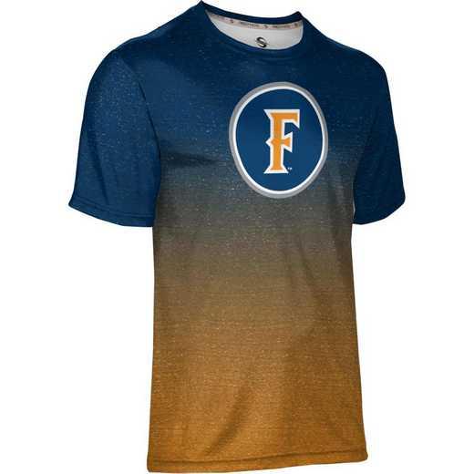 California State University Fullerton Men's Performance T-Shirt (Ombre)