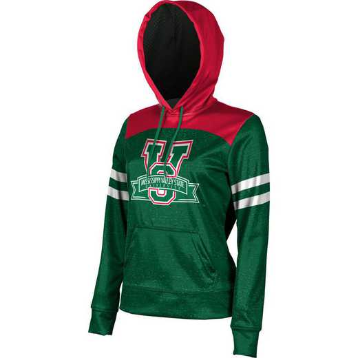 Mississippi Valley State University Women's Pullover Hoodie, School Spirit Sweatshirt (Game Day)