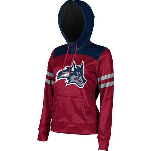 Stony Brook University Women's Pullover Hoodie, School Spirit Sweatshirt (Game Day)