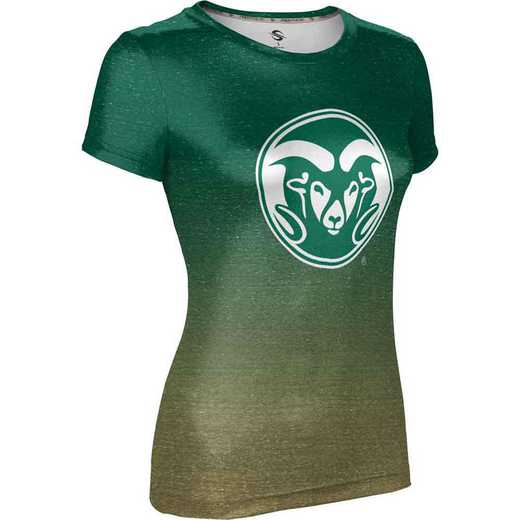 ProSphere Colorado State University Women's Performance T-Shirt (Ombre)