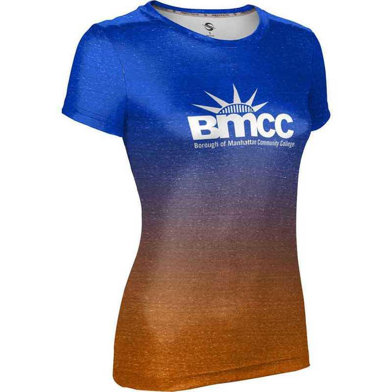Borough of Manhattan Community College University Women's Performance T-Shirt (Ombre)