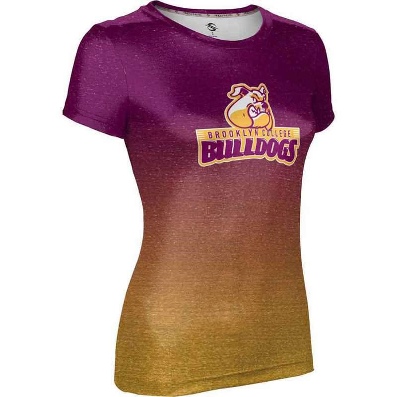 ProSphere Brooklyn College Women's Performance T-Shirt (Ombre)
