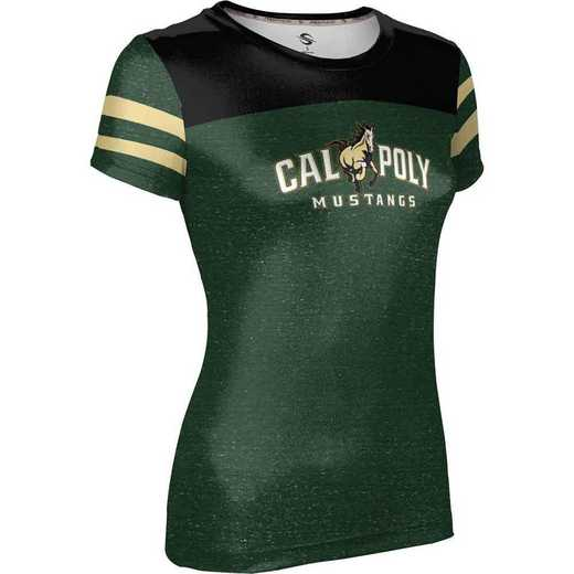 California Polytechnic State University Women's Performance T-Shirt (Gameday)
