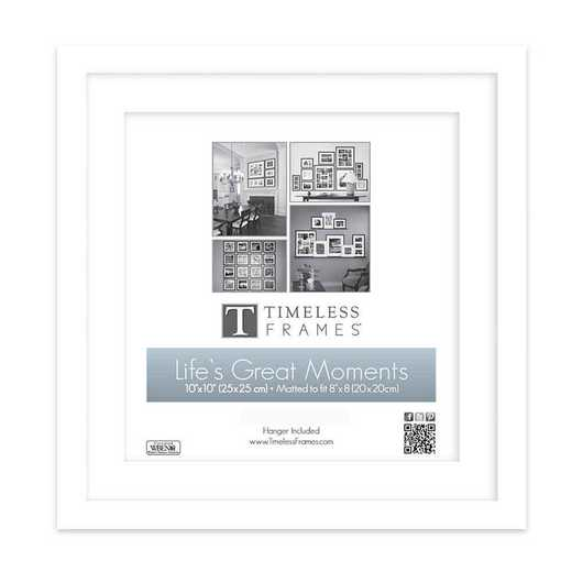 Life's Great Moments Portrait  White Frame