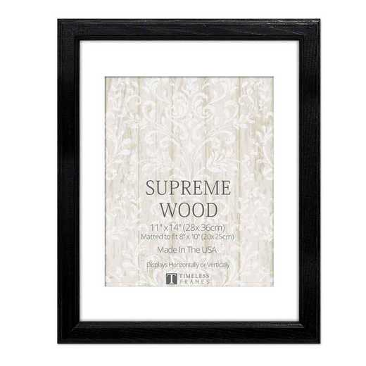 Supreme Wood Black Frame