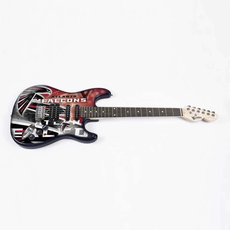 NENFL02:  Atlanta Falcons Northender Guitar