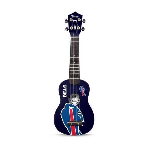 UKNFL39:  Buffalo Bills Ukulele