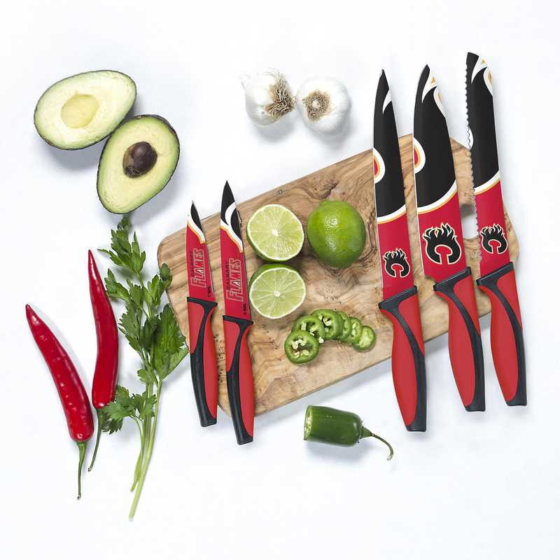 KKNHL05: TSV Calgary Flames Kitchen Knives