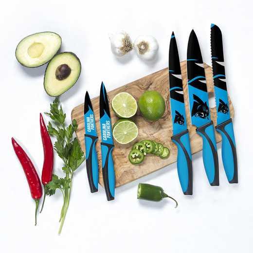 KKNFL05: TSV  Carolina Panthers Kitchen Knives