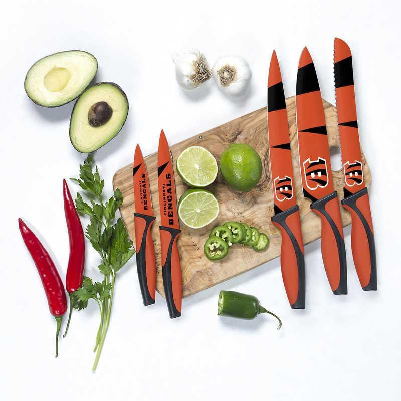 KKNFL07: TSV  Cincinnati Bengals Kitchen Knives
