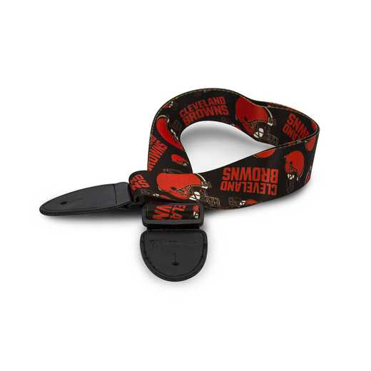 GSNFL08:  Cleveland Browns Guitar Strap