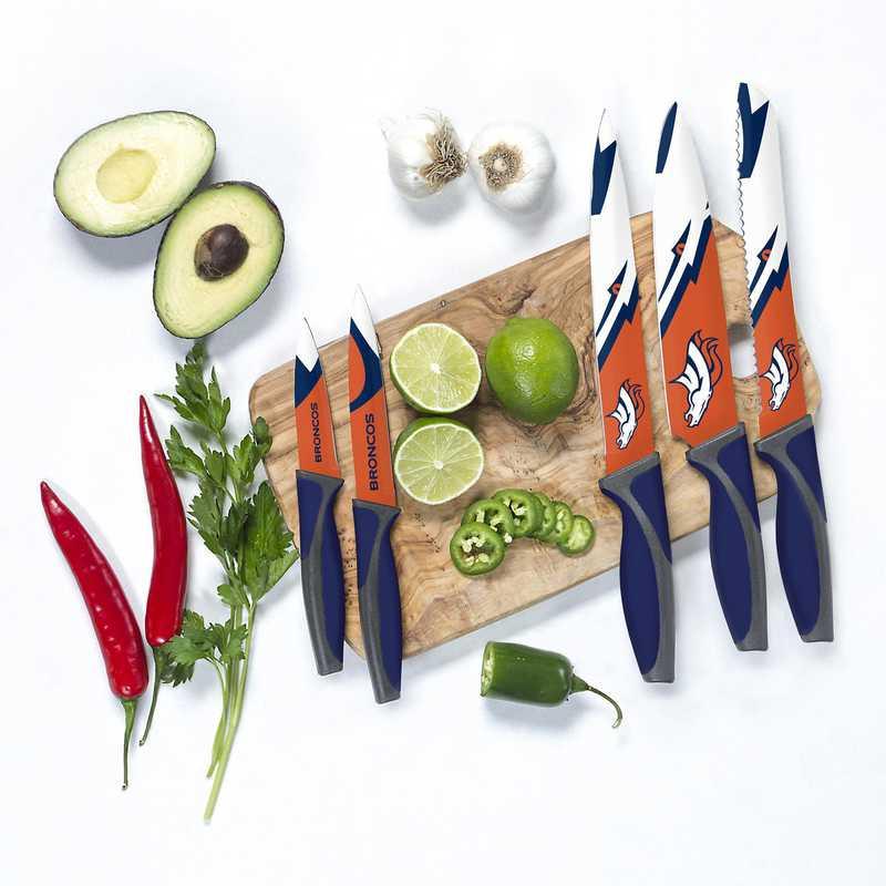 KKNFL10: TSV  Denver Broncos Kitchen Knives