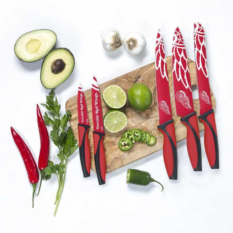 KKNHL11: TSV  Detroit Red Wings Kitchen Knives