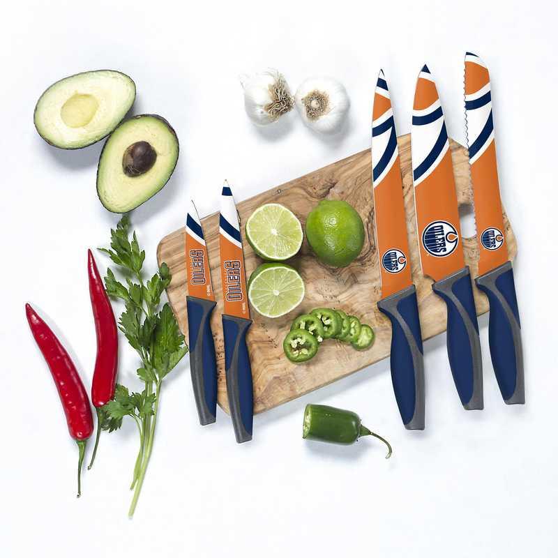 KKNHL12: TSV  Edmonton Oilers Kitchen Knives