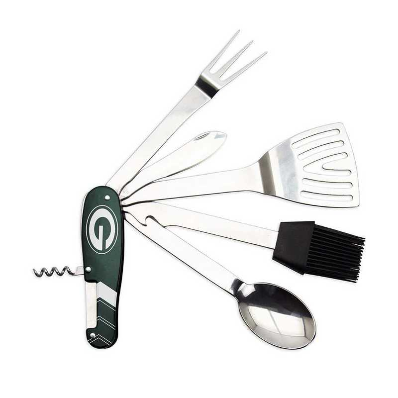BQNFL12: TSV   Green Bay Packers BBQ Multi Tool