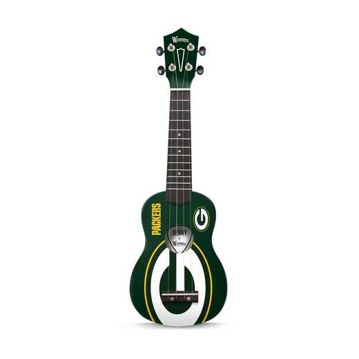 UKNFL47:  Green Bay Packers Ukulele