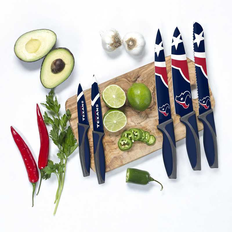 KKNFL13: TSV Houston Texans Kitchen Knives