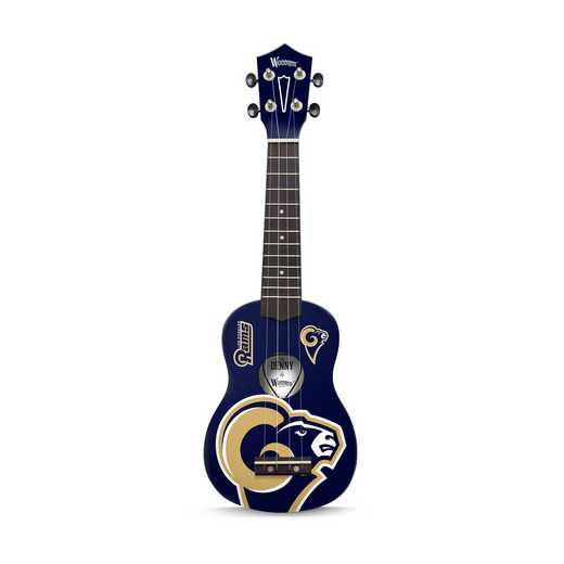 UKNFL61:  Los Angeles Rams Ukulele