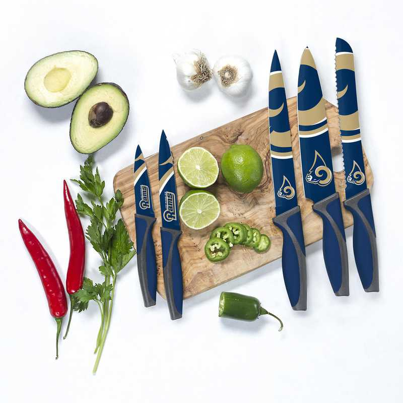 KKNFL26: TSV  Los Angeles Rams Kitchen Knives