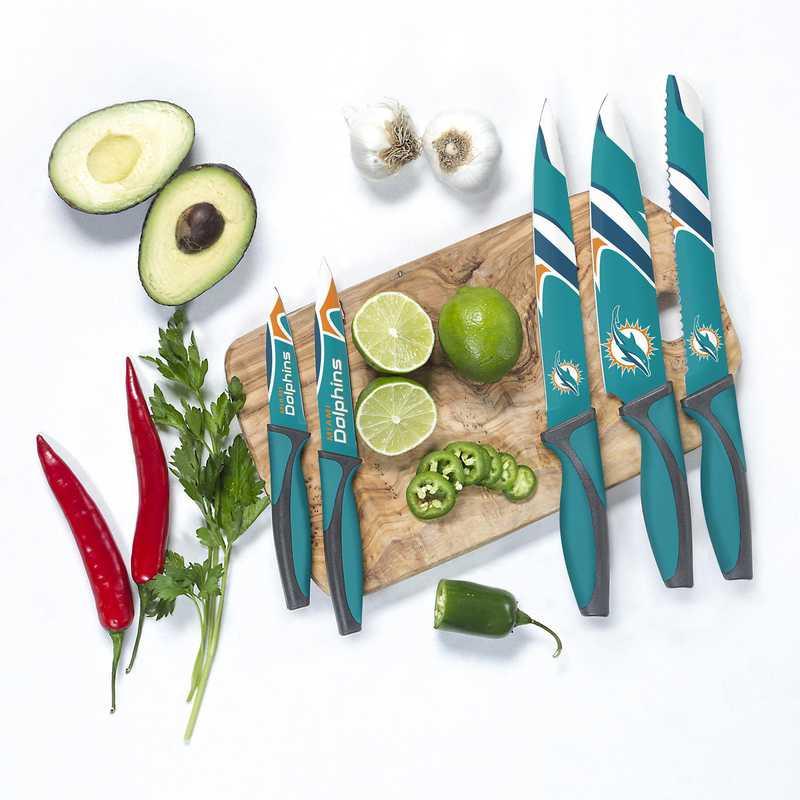 KKNFL17: TSV Miami Dolphins Kitchen Knives