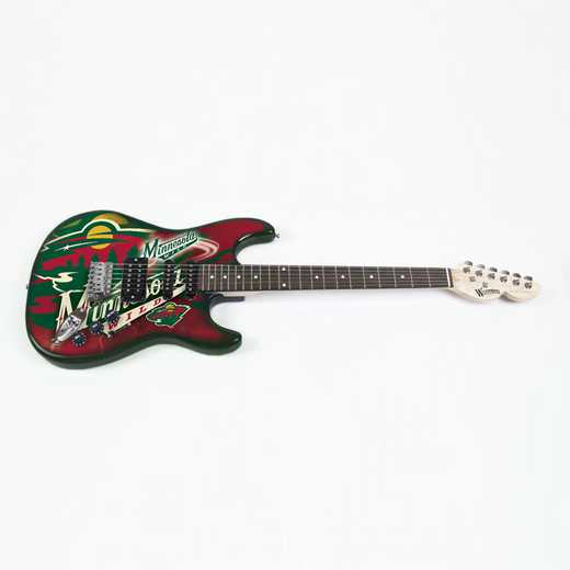 NENHL15:  Minnesota Wild Northender Guitar