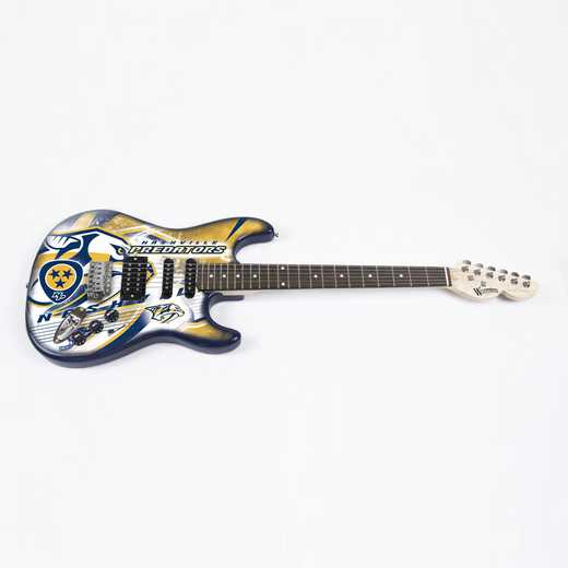 NENHL17:  Nashville Predators Northender Guitar