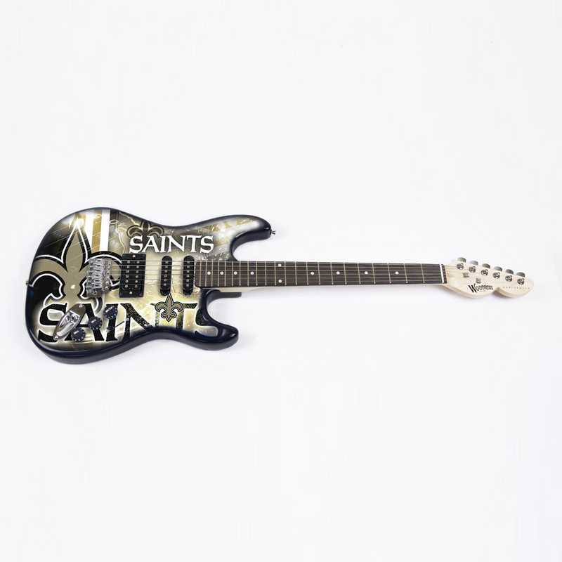 NENFL20:  New Orleans Saints Northender Guitar