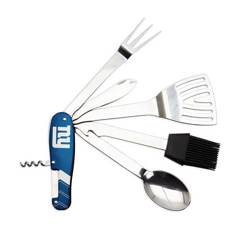 BQNFL21: TSV   New York Giants BBQ Multi Tool