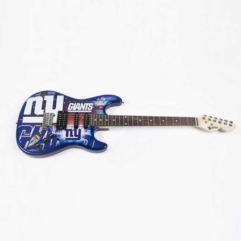 NENFL21:  New York Giants Northender Guitar