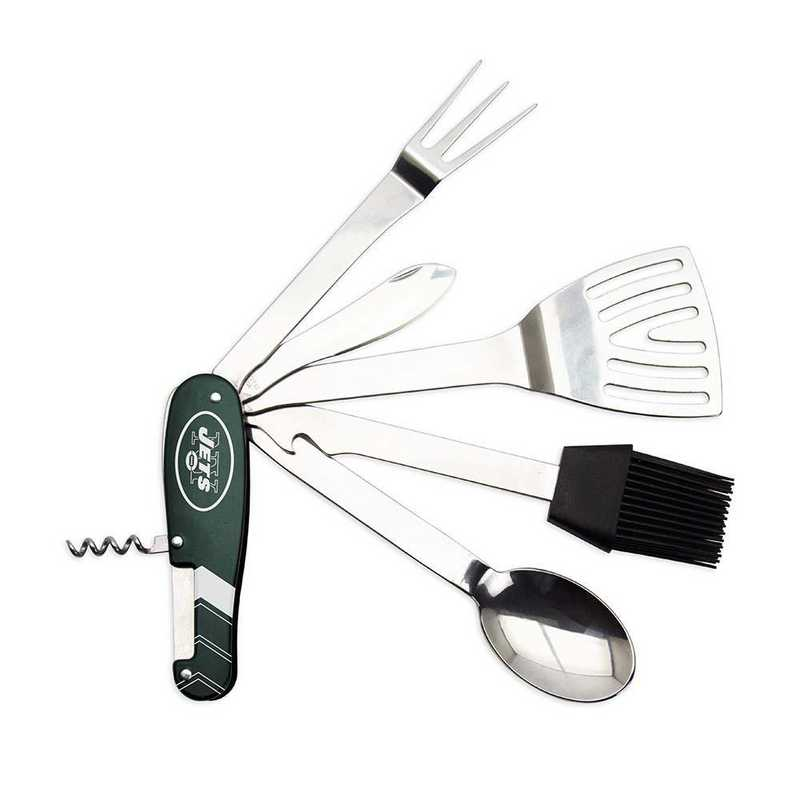 BQNFL22: TSV   New York Jets BBQ Multi Tool