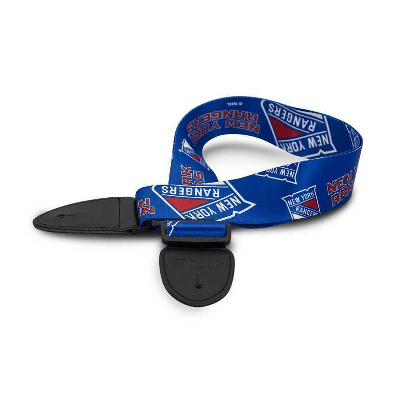 GSNHL19:  New York Rangers Guitar Strap