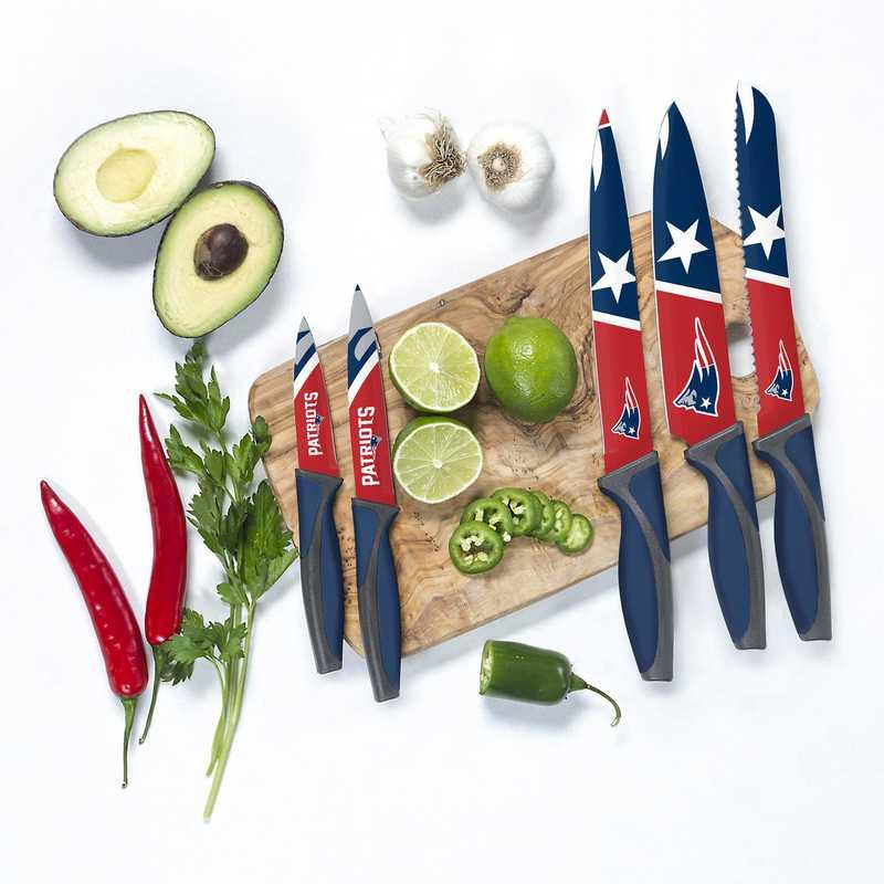 KKNFL19: TSV New England Patriots Kitchen Knives