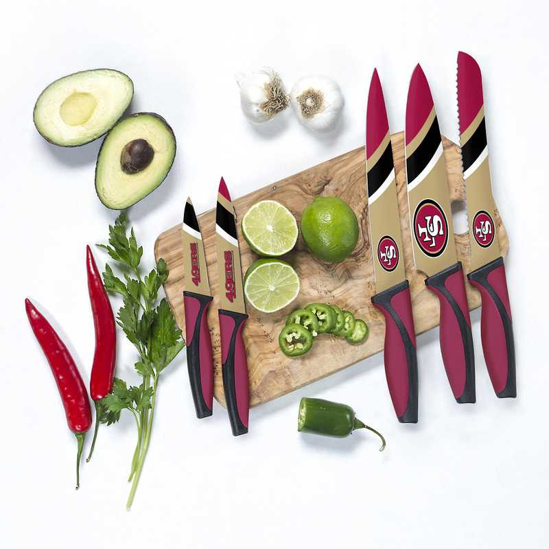 KKNFL28: TSV San Francisco 49ers Kitchen Knives