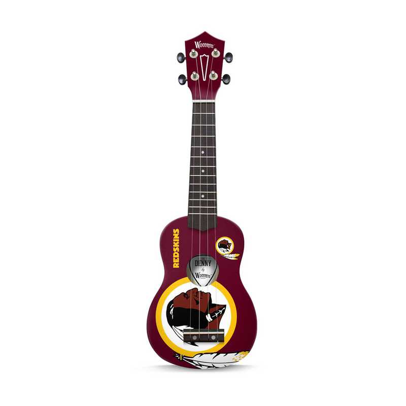 UKNFL67:  Washington Redskins Ukulele