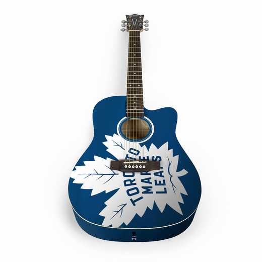 ACNHL33: Toronto Maple Leafs Acoustic Guitar