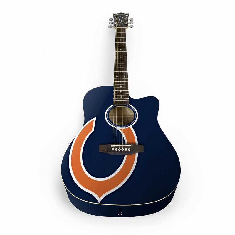 ACNFL06:  Chicago Bears Acoustic Guitar